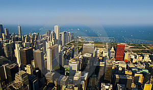Chicago Skyline Royalty Free Stock Photos - Image: 16119078