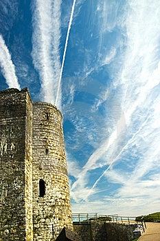 Castle Ruins Stock Image - Image: 16119371