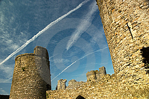 Castle Ruins Royalty Free Stock Photo - Image: 16119415