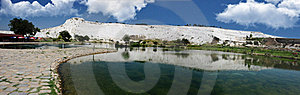 Panoramic Mountain Lake Stock Images - Image: 16119744