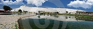 Panoramic Mountain Lake Stock Images - Image: 16119744