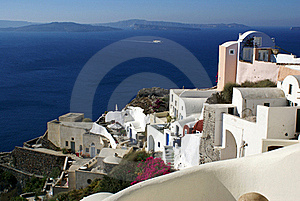 Colorful Oia Royalty Free Stock Photo - Image: 16120595