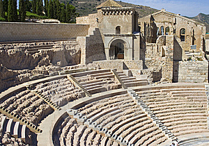 Roman Theatre Royalty Free Stock Images - Image: 16120809