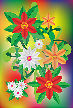 Bright Flower Royalty Free Stock Image - Image: 16121636