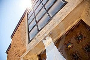 Ivory Wedding Dress Royalty Free Stock Photos - Image: 16123298