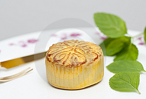 Moon Cake Stock Images - Image: 16123344