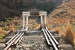 Abandoned Railway Tracks Royalty Free Stock Photo - Image: 16124605