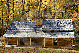 Cabin In The Smokies Royalty Free Stock Image - Image: 16124636