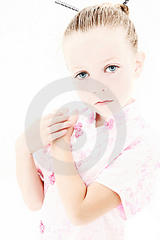 Anime Style Portrait Royalty Free Stock Photo - Image: 16125345
