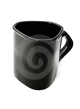 Black Triangle Cup Stock Image - Image: 16126421
