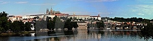 Panoramic View Of Prague Castle Stock Photo - Image: 16138840