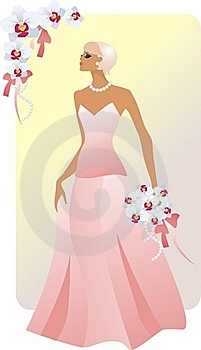 Bride Blonde Royalty Free Stock Image - Image: 16146436