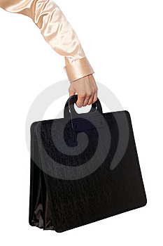 Suitcase With Contracts Royalty Free Stock Images - Image: 16146529