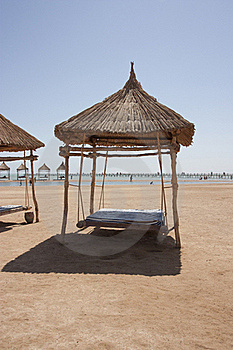 Beach Shelter Royalty Free Stock Image - Image: 16146596