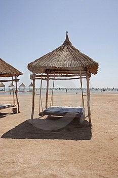 Beach Shelter Royalty Free Stock Image - Image: 16146596