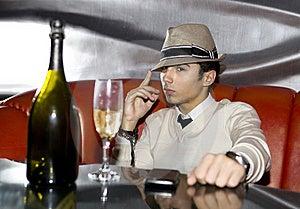 Man In Night Club Royalty Free Stock Photos - Image: 16147338