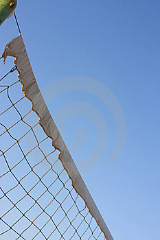 Sports Net Viewed From Below Stock Photos - Image: 16147363