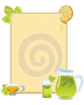 Tea Menu Royalty Free Stock Image - Image: 16148486