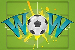 Wow With Soccer Ball Royalty Free Stock Images - Image: 16150959