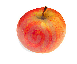 Red-yellow Apple Royalty Free Stock Images - Image: 16153159