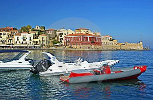 Quay In The Greek City Royalty Free Stock Images - Image: 16155589