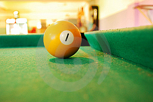Billiard Ball Royalty Free Stock Images - Image: 16156379