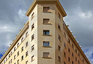 Sinister Building Stock Images - Image: 16156444