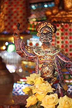 Devil Doll In Chinese Style Royalty Free Stock Photo - Image: 16158205