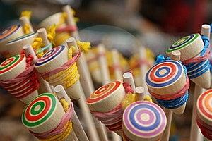 Wooden Yo-Yo Stock Images - Image: 16160544