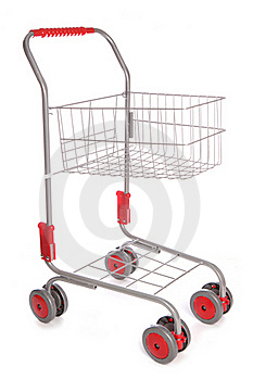 Shopping Trolley Cutout Royalty Free Stock Photo - Image: 16163525