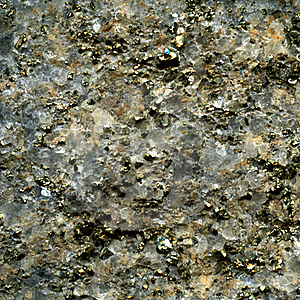 Texture Of Pyrite Crystal In Quartz Royalty Free Stock Photo - Image: 16166635