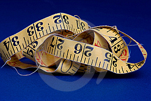 Old Measure Tape Royalty Free Stock Images - Image: 16171719