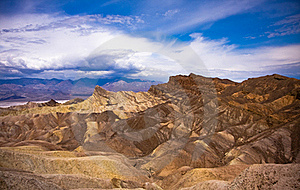 Death Valley Desolated Scenery Stock Photography - Image: 16172972
