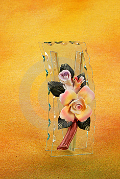 Glass Flower Pot Royalty Free Stock Photos - Image: 16173048