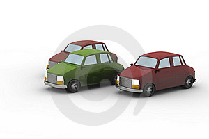 3 Cars Stock Images - Image: 16173344