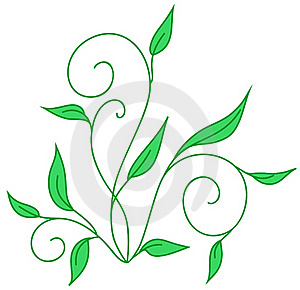 Stems With Leafs Stock Photos - Image: 16173453