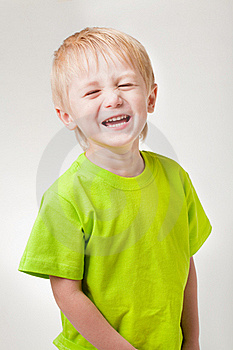 Boy Laughs Royalty Free Stock Photo - Image: 16173485