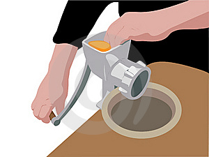 Meat Grinder Royalty Free Stock Photography - Image: 16175377