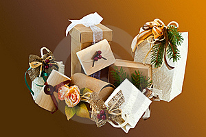 Christmas Packages 2 Royalty Free Stock Photography - Image: 16175437