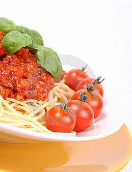 Spaghetti Bolognese Stock Photo - Image: 16177610