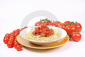 Spaghetti Bolognese Royalty Free Stock Image - Image: 16177936
