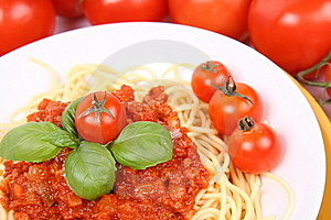 Spaghetti Bolognese Stock Images - Image: 16178044