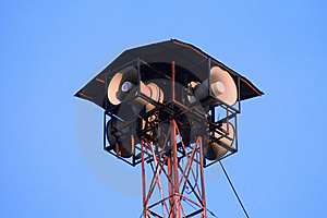 A Tannoy Speaker System Against Royalty Free Stock Images - Image: 16178289