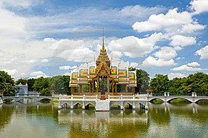 Pang-Pa-In Palace Stock Images - Image: 16178724
