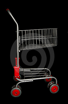 Shopping Trolley Stock Images - Image: 16180664