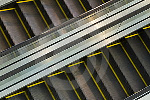 Escalator Royalty Free Stock Image - Image: 16181156