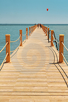Wooden Jetty Royalty Free Stock Images - Image: 16182699