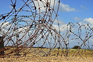 Barbed Wire Royalty Free Stock Image - Image: 16184026