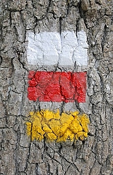 PR And GR Signaling In Etxarri, Navarra Royalty Free Stock Image - Image: 16187806