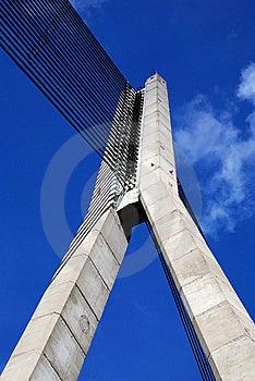 Bridge In Riga Royalty Free Stock Photography - Image: 16188137